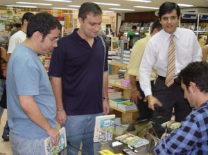 Dr. Audi, Rodrigo Madona e Lula do Mar.