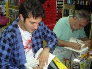 Companhia ilustre: Nei Leandro assina as Pelejas.