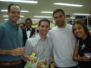 Ewerton, Rodrigo, Japa e Clarissa