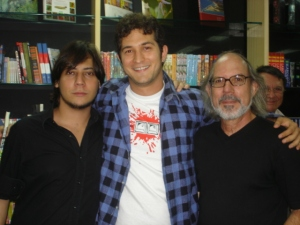 Rodrigo e Racine Santos