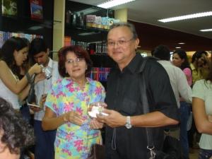 Maria Nunes e Dr. Vicente Vitoriano