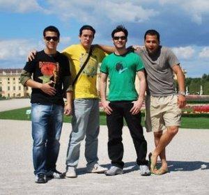 Diogo, Rapha, Henrique e Marco