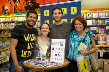 Patrício, Kayonara e Professora Tânia Mendes