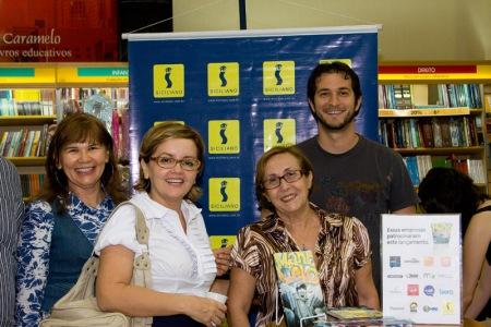 Professoras Célia, Ana Santana e Conceição.