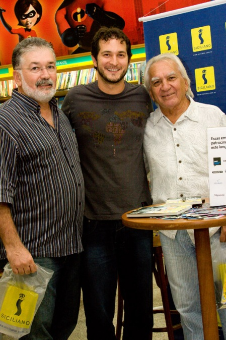Sérgio (primo) e Zé Augusto (tio e padrinho)