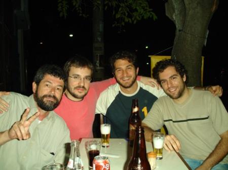 Marçal, Antonio Prata e Daniel Galera.