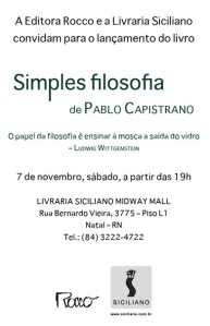 Convite Simples Filosofia