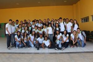 Turma do 2º ano do Ensino Médio do IFRN de São Gonçalo. Valeu mesmo!