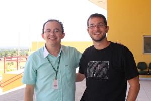 Professor Milson dos Santos, que me deixou muito feliz e honrado com o trabalho realizado com os estudantes.
