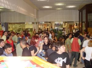 Quanta gente veio ver!